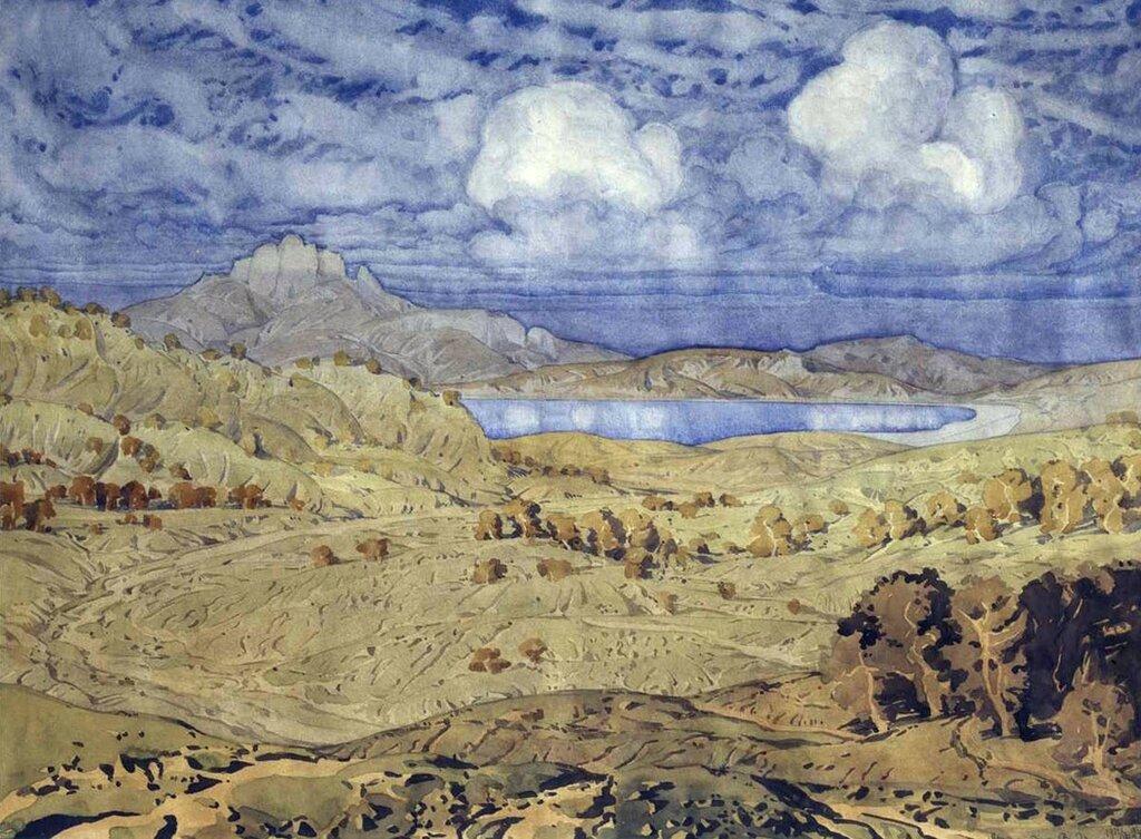 Осенняя земля. 1924 Волошин