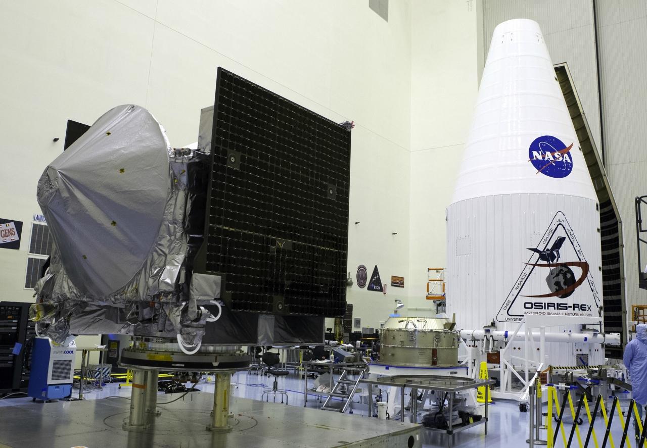 Прибытие к астероиду Бенну изобразили на постере