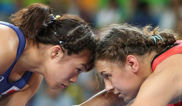 ОЛИМПИАДА-2016: Мария Мамошук вышла вполуфинал женского борцовского турнира Игр