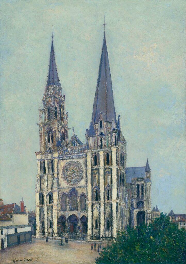 The Cathedral of Chartres (Eure-et-Loire), 1912-14.jpg