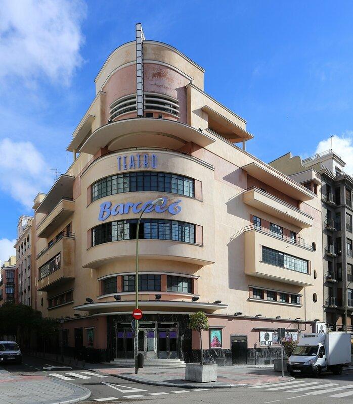 Мадрид. Театр Барсело (Teatro Barceló)