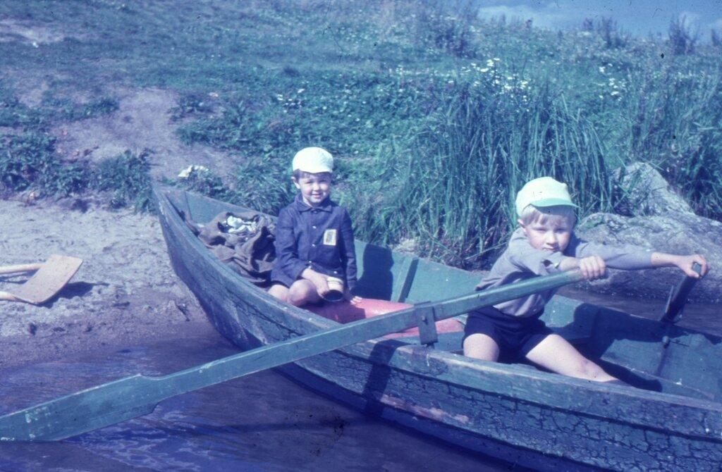 Свердловск, Верх-Исетский пруд, рыбалка. Начало 1980-х