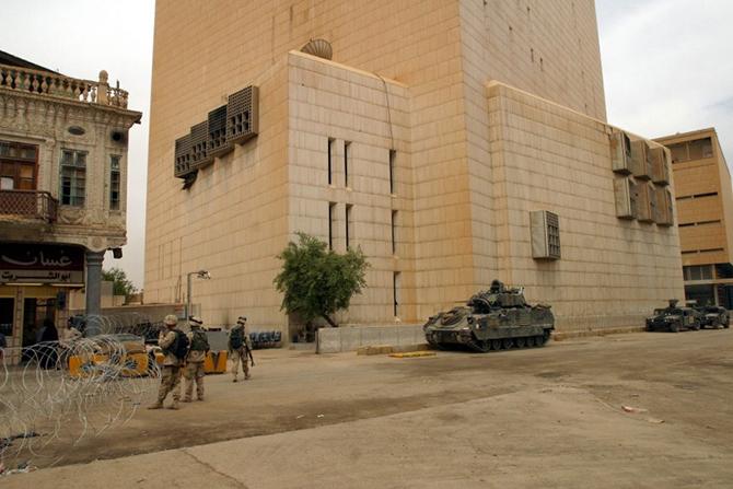 В 2007 году в Багдаде было совершено ограбление частного банка «Дар-эс-Салаам». Когда сотрудники