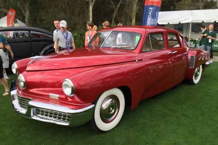 Легендарные автомобили на конкурсе элегантности Амелия Айленд 2016 (9 фото)