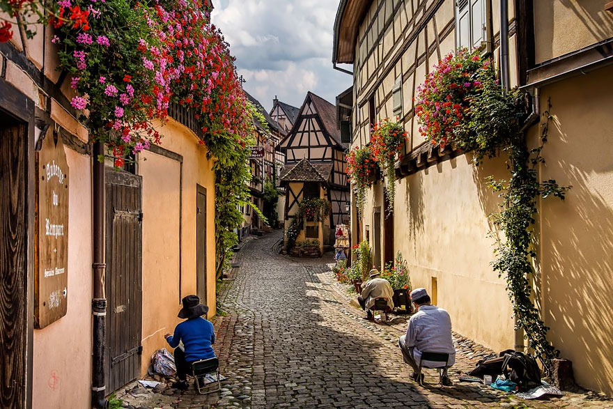 Эгисхайм, Франция.