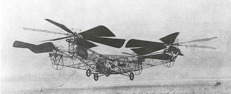 6. Квадролет и вертолет Игорь Сикорский также создал и первый серийный вертолет, им стал R-4, или S-