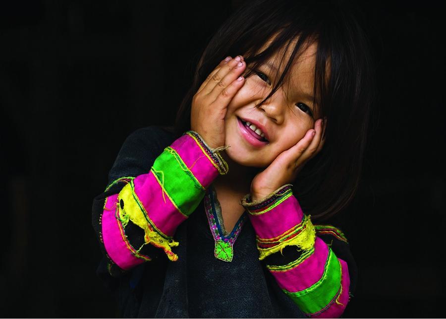 26. Юная жительница Бао Лак.