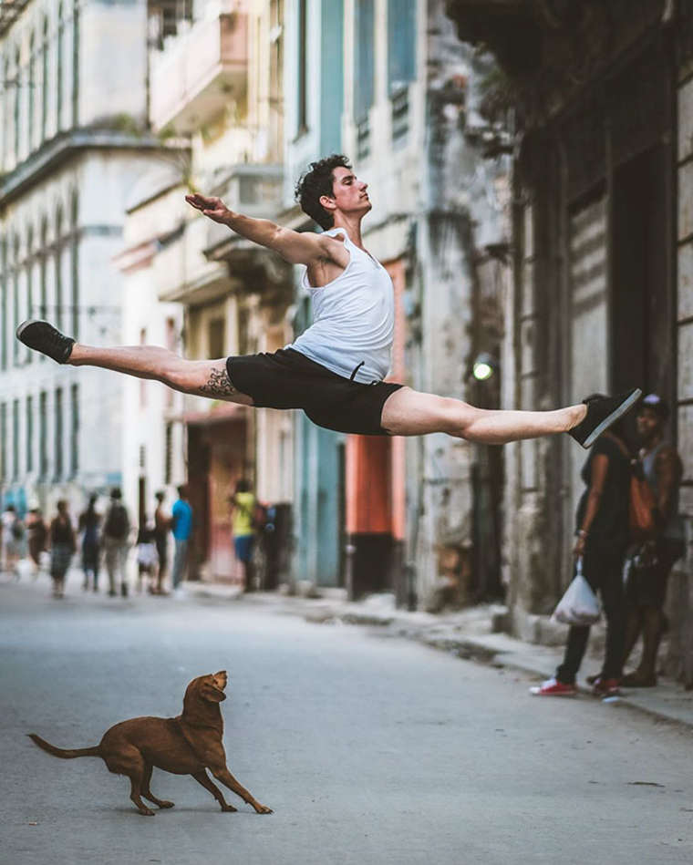 Dancing in Cuba - Photographing ballet dancers in the streets of Havana