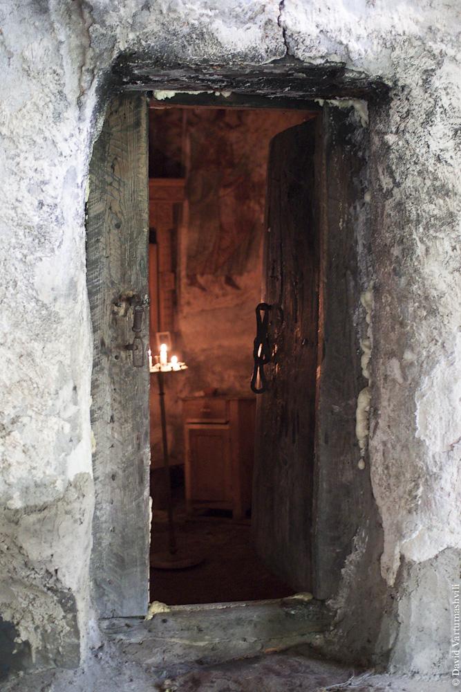 Грузия, Сванетия, монастырь Тангили