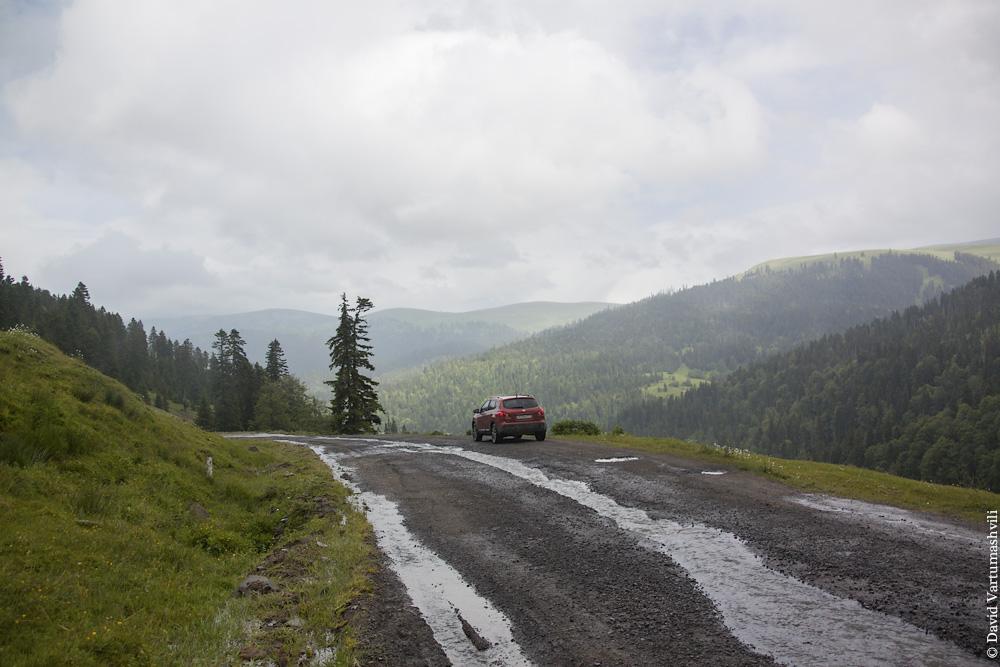 Перевал Годердзи.