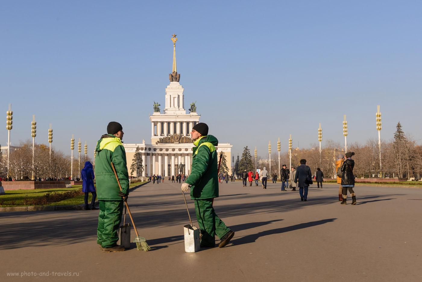 Фото 9. Центральный павильон ВДНХ. Интересные места в Москве, которые можно посмотреть за один день. 1/250, 9.0, 100, 42.