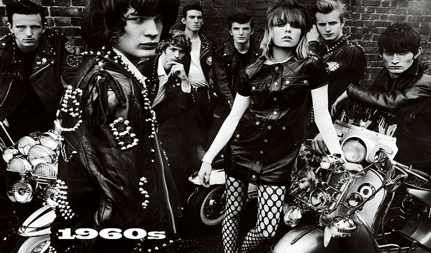 Vogue UK June 2016 Decades 1960s Edie Campbell by Mario Testino