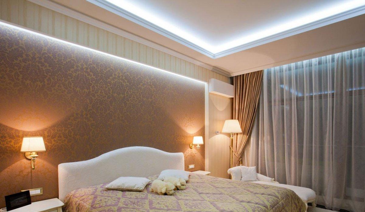 Светодиоды в спальне