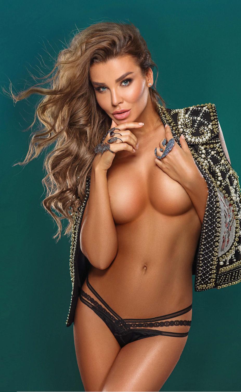 Наталия Рубцова в журнале Playboy Россия, сентябрь 2016