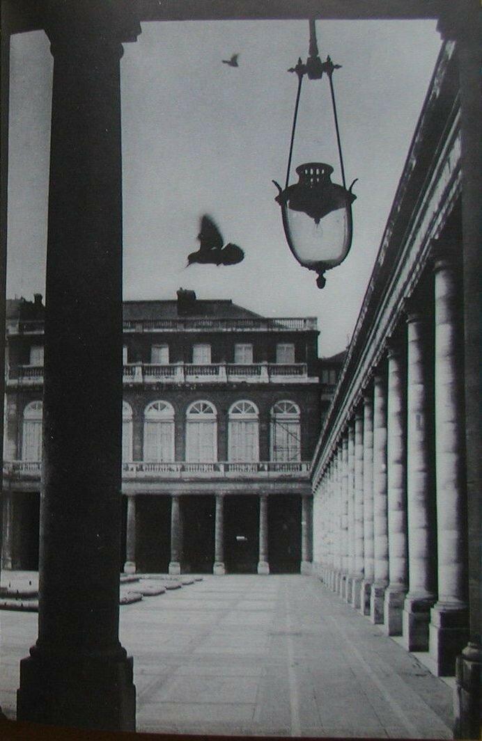 1960. Во дворе Королевского дворца