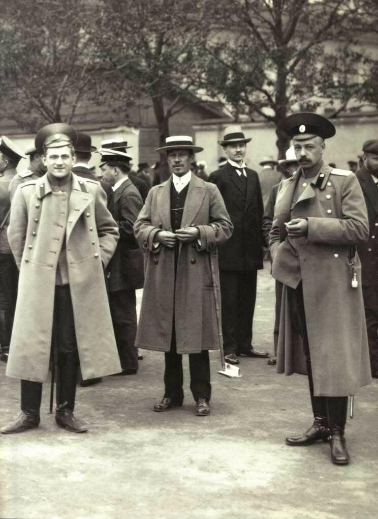 Офицерский призывной пункт. 1914.