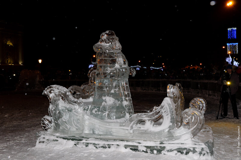 Дед Мороз из Великого Устюга в Самаре