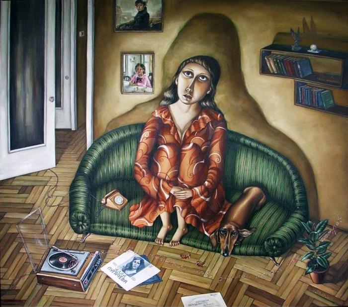 Советское прошлое в рисунках Анжелы Джерих