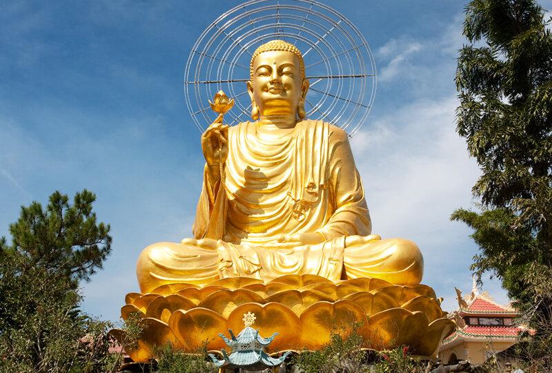 Сидящий Будда-2