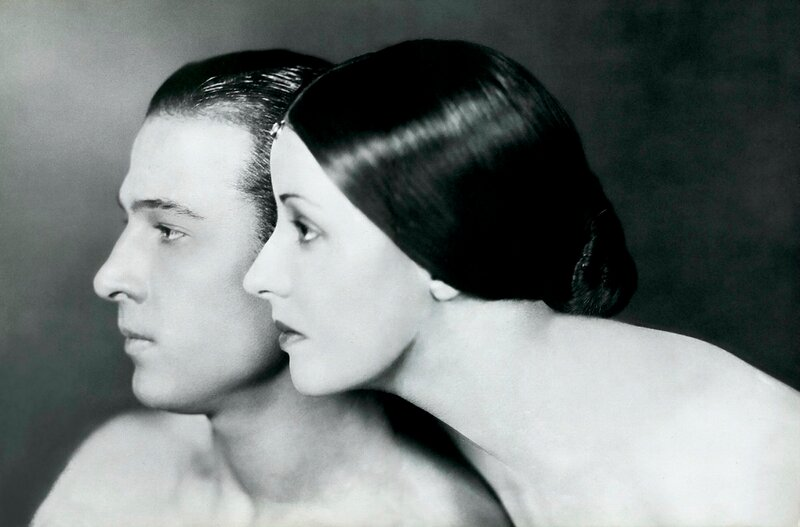 rudolph & natacha valentino 1921 - by james abbe