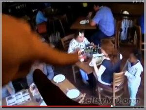 Камера в кафе запечатлела малолетнюю преступницу