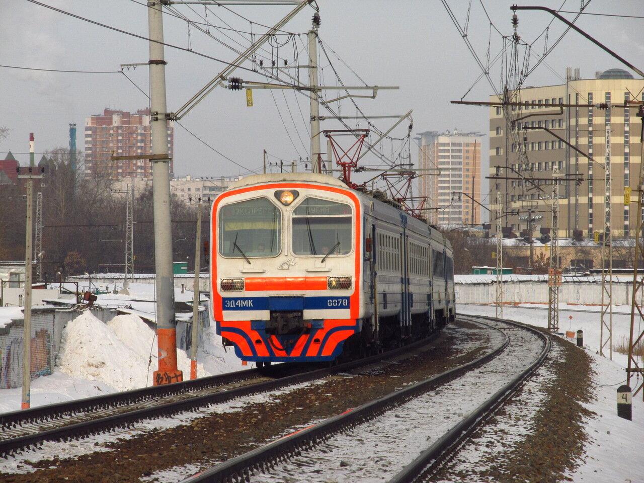Вскоре эти поезда начали выпускаться серийно совместно с ЭД4М, используя общую.