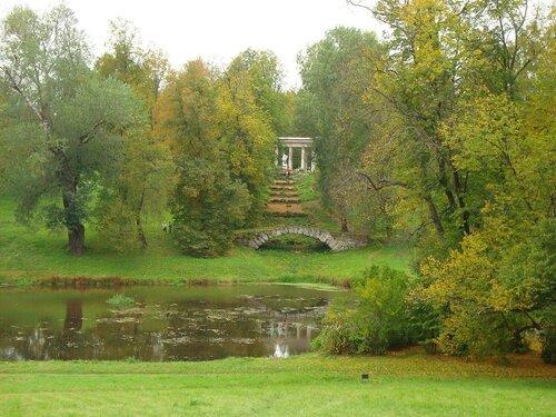 Осенний пейзаж. Павловск