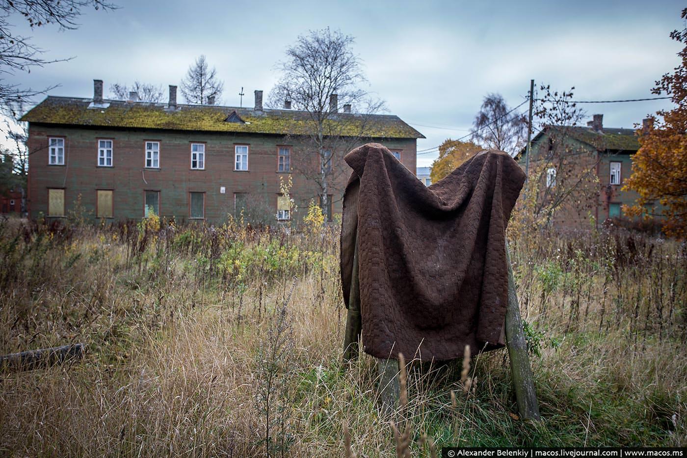 Заброшенный район Таллина
