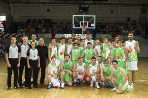 Баскетбольный VIP-матч с участием руководителей городских учреждений и предприятий