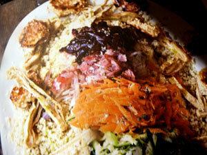 ПОДАТЬ салат Радуга и сырнички