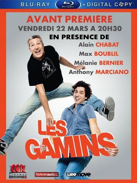 Холостяки в отрыве / Сорванцы / Les Gamins (2013) BDRip 1080p/720p + НDRip