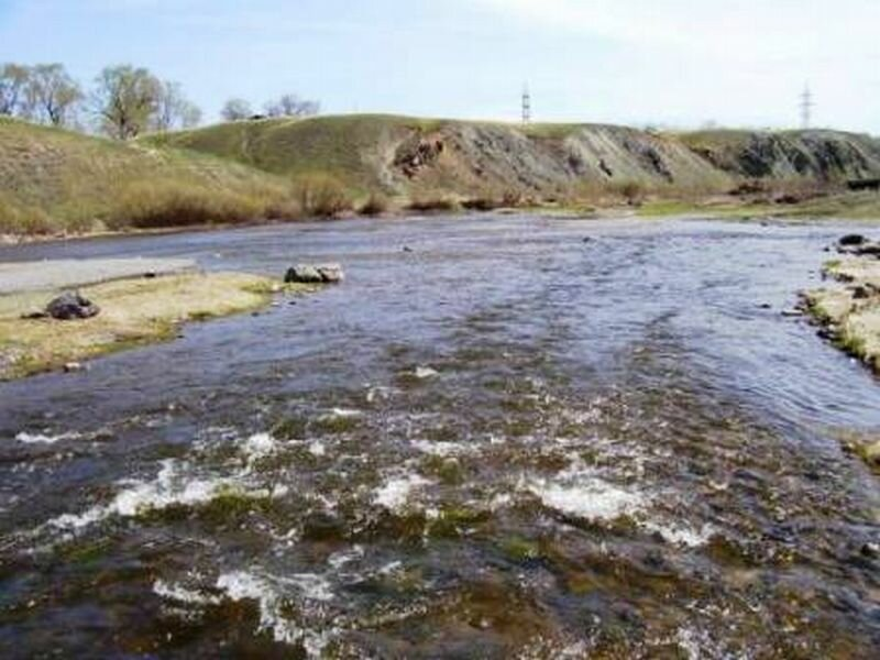 Бурные воды Увельки (24.10.2013)