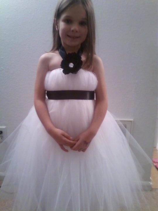 Платья для девочек своими руками из фатина фото