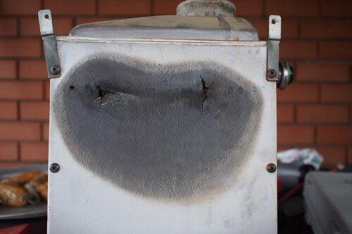 Прогорел теплообменник котла навьен Кожухотрубный конденсатор Alfa Laval ACFC 240/274 Чебоксары