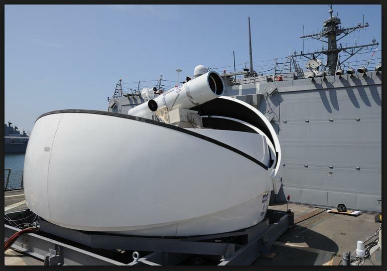 Лазерное оружие ВМС США