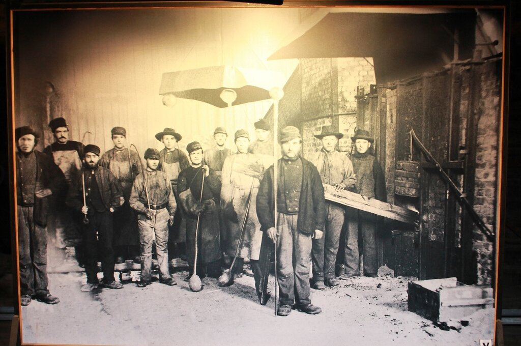 Røros museum. Copper smelting shop