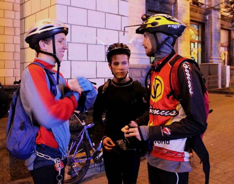 Организаторы Bike Light Ride 2013