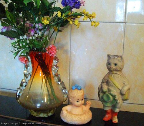 Кот в сапогах и девочка