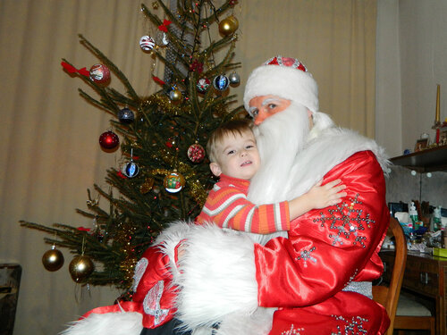 Дед Мороз в Риге.