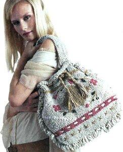 вязаниые сумки