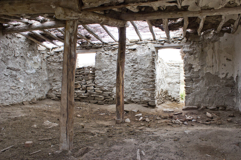 каменное плато между Курчумом и Курчумским хребтом