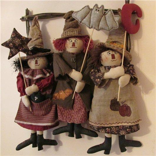 куклы ведьмы