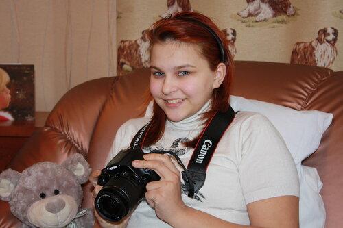 Зоя М. Профессиональный фотоаппарат