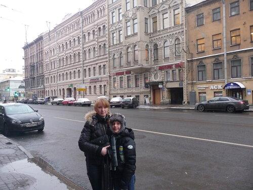Сережа Ф. Поездка в Петербург