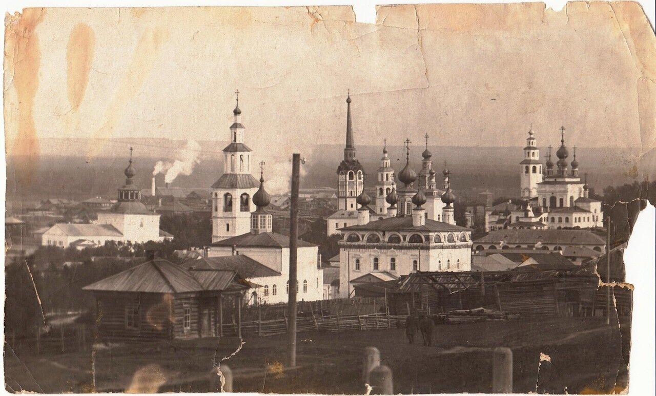 Вид Соликамска с юго-запада