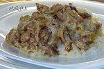 Курино-грибная подлива с рисом