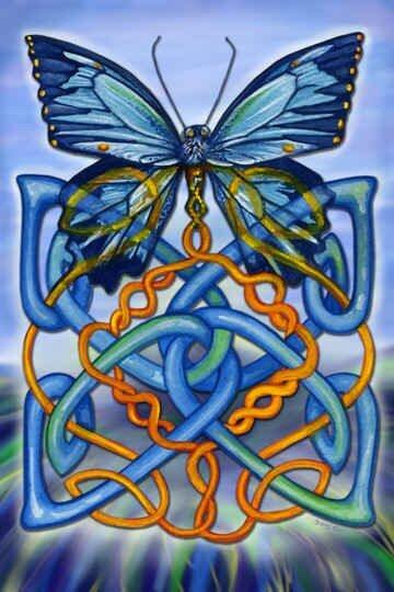 """Автор схемы  """"Кельтские мотивы """". схема. poltanya.  0. оригинал.  Картинки.  Размеры: 127 x 190 крестов."""