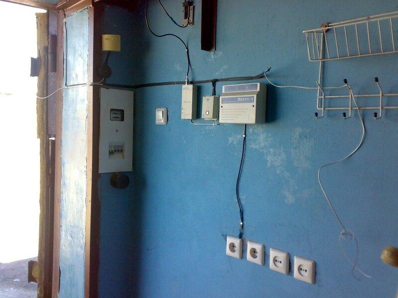Электричество для гаража своими руками