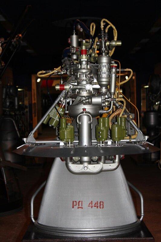 Жидкостный ракетный двигатель РД-0109