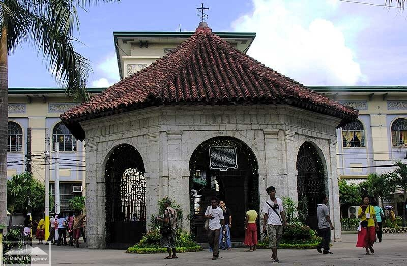 Крест Магеллана в Себу
